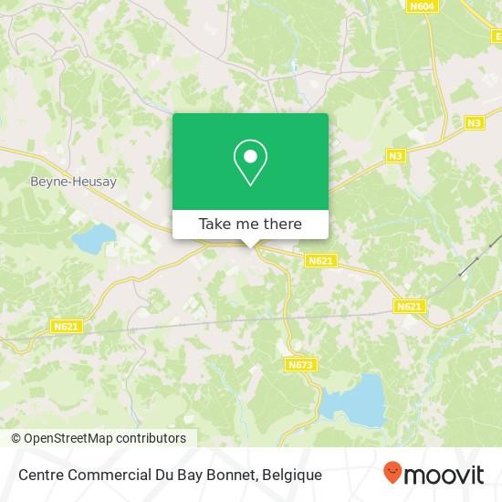 Centre Commercial Du Bay Bonnet kaart