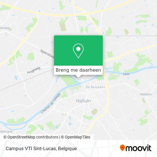 Campus VTI Sint-Lucas kaart