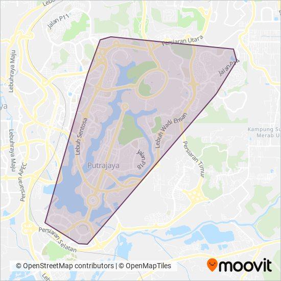 Nadi Putra coverage area map
