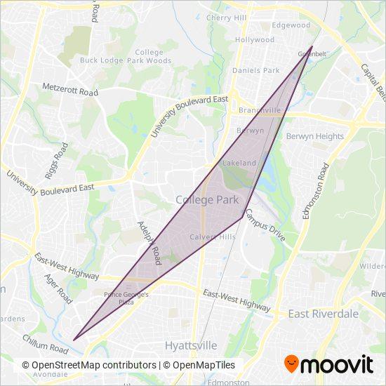 Metrobus Bus Routes Bus Times In Washington Baltimore