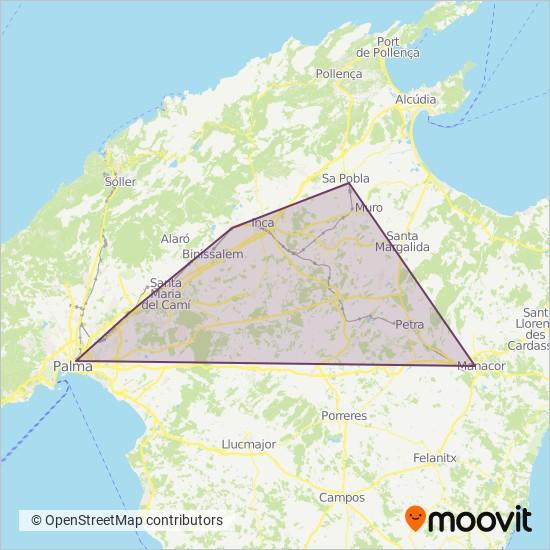 Cobertura del mapa de TIB