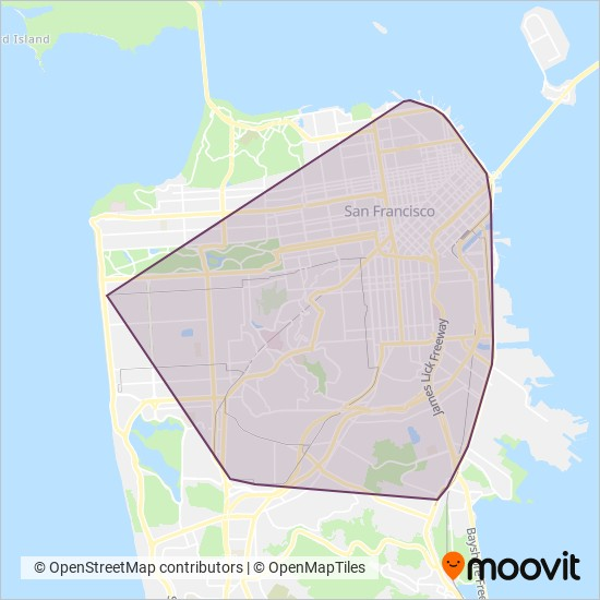 San Francisco Muni Metro Map.Muni Metro Light Rail Lines Light Rail Times In Sf Bay Area