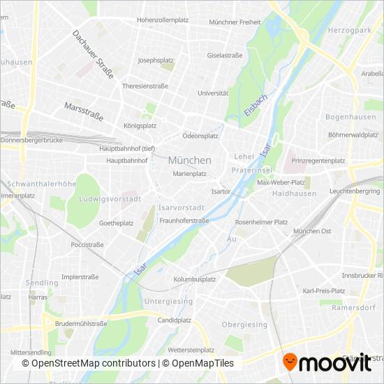 Parsdorf Express Bus Routen Bus Zeiten In München