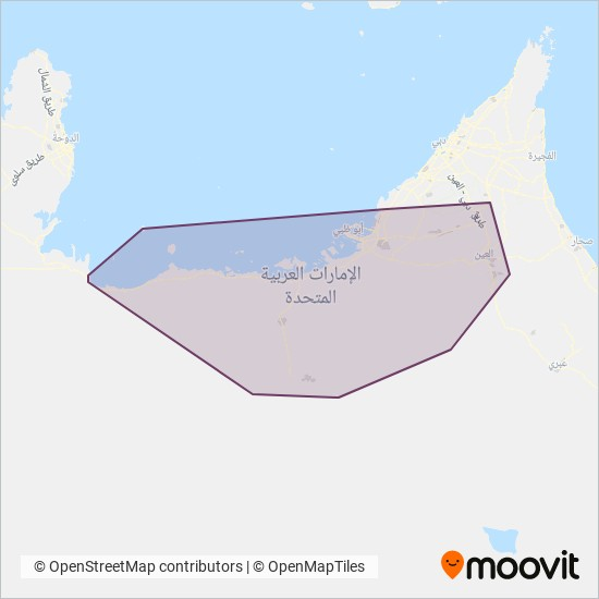 DARB coverage area map