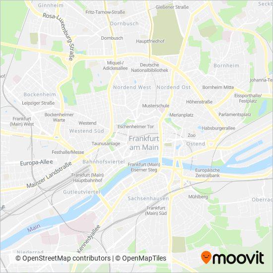 Mainz-Bingen coverage area map
