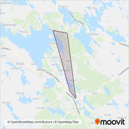 Valkeakosken Liikenne Oy Bussi Reitit Kaupungissa Hameenlinna
