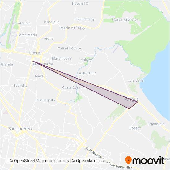 Cerro Koi S.A coverage area map
