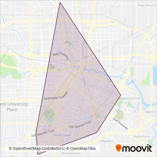 METRO Light Rail lines, Light Rail times in Houston