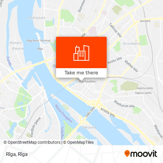 Rīga map