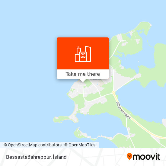 Bessastaðahreppur map