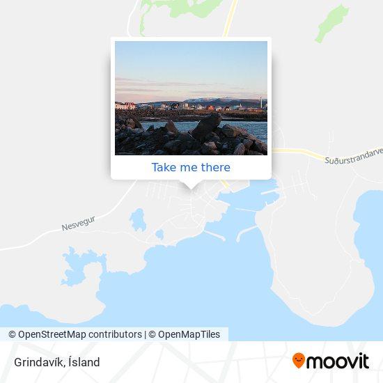 Grindavík map