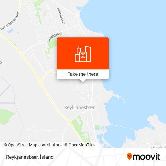 Reykjanesbær map