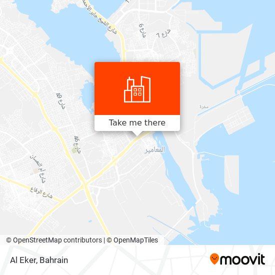Al Eker map