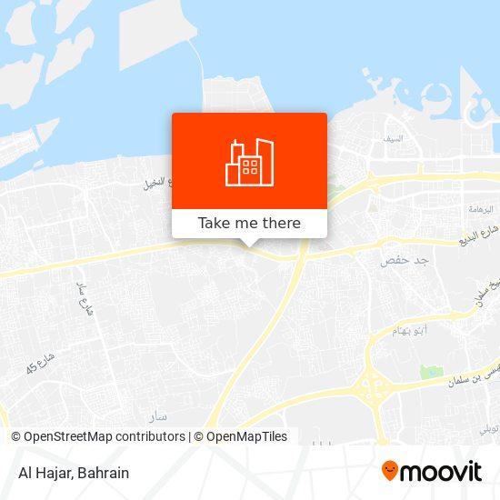 Al Hajar map