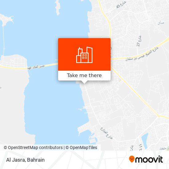 Al Jasra map