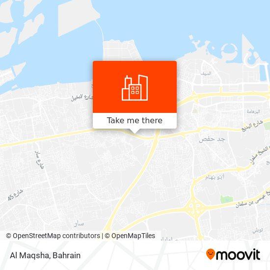 Al Maqsha map