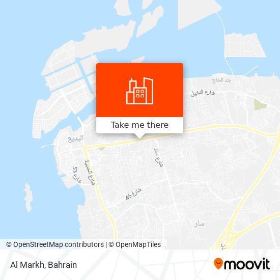 Al Markh map