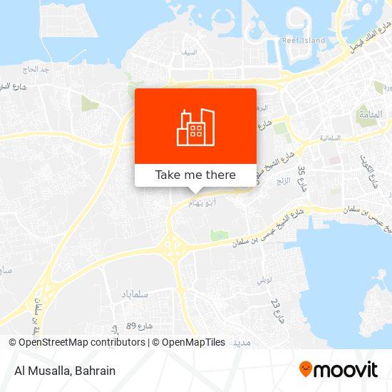 Al Musalla map