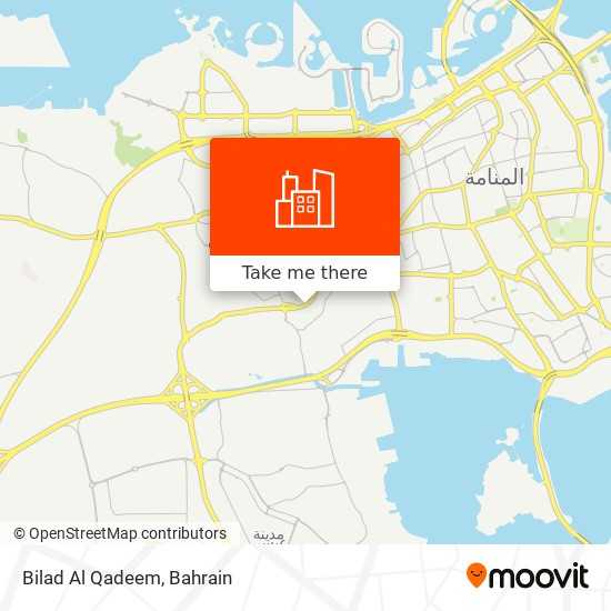 Bilad Al Qadeem map