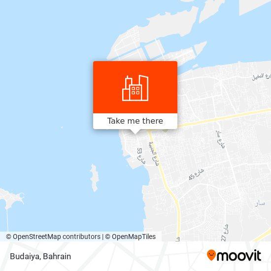 Budaiya map