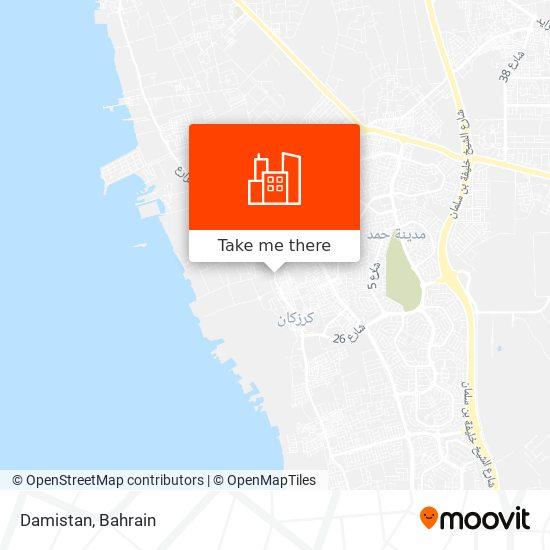Damistan map