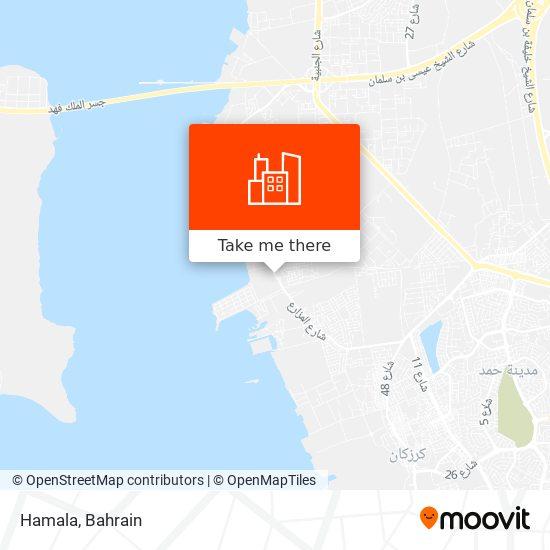 Hamala map