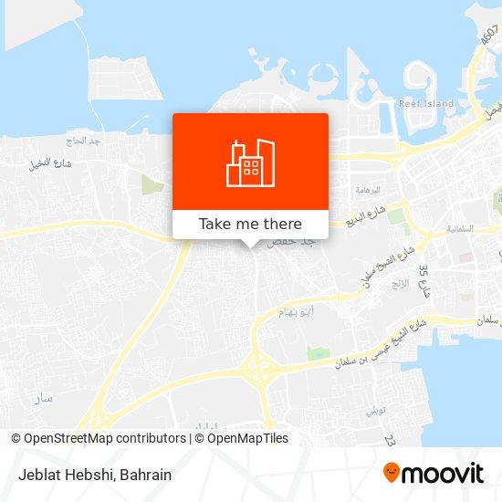 Jeblat Hebshi map