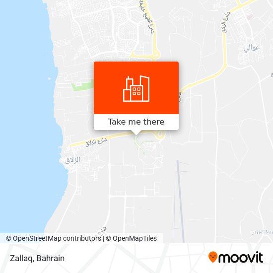 Zallaq map