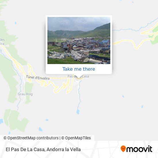 El Pas De La Casa map