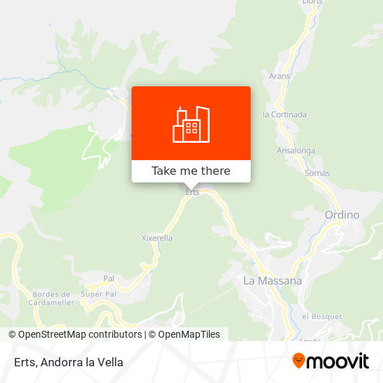 Erts map