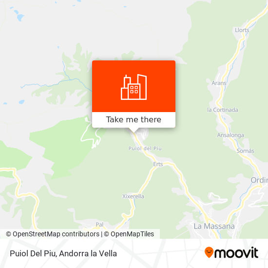 Puiol Del Piu map