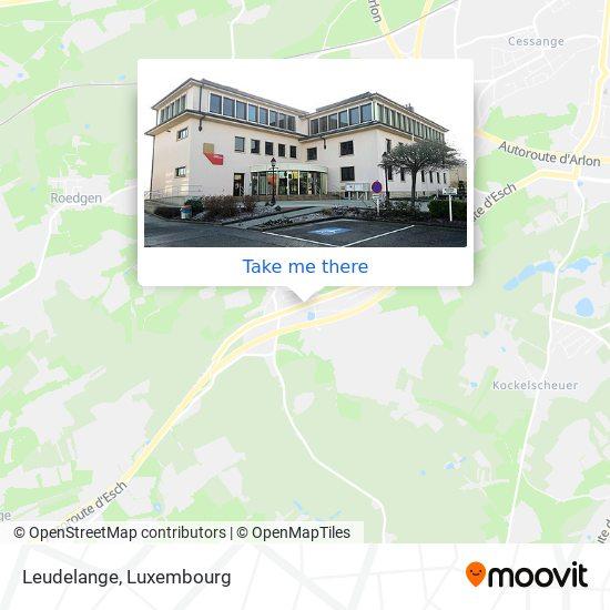 Leudelange map