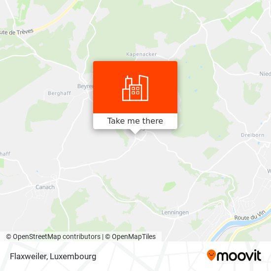 Flaxweiler map