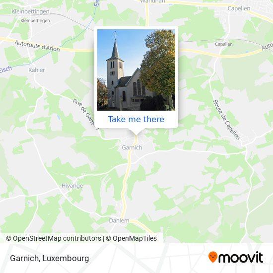 Garnich map