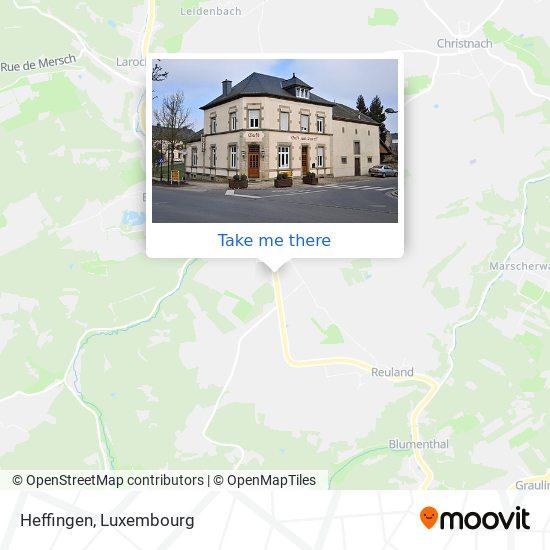 Heffingen map