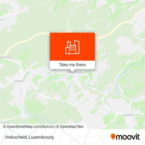 Hobscheid map