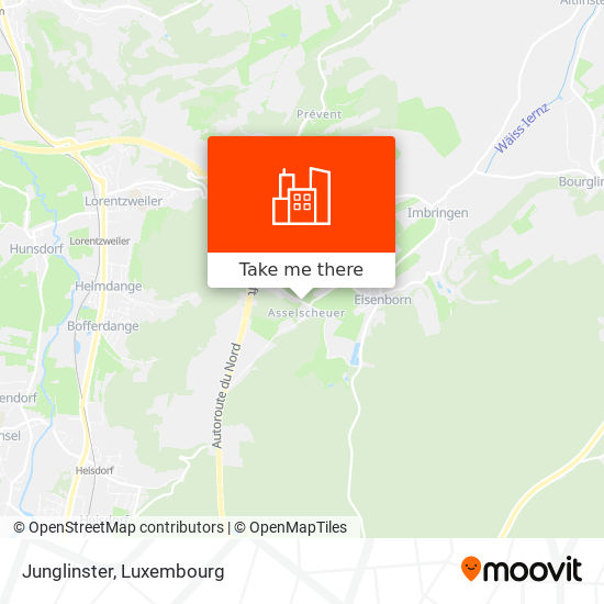 Junglinster map