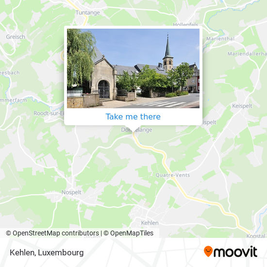 Kehlen map