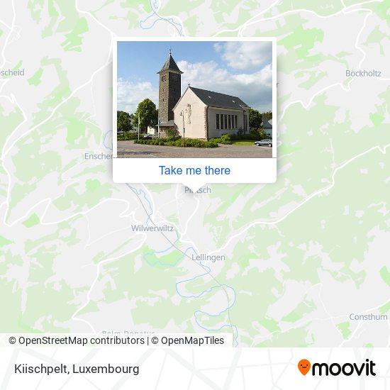 Kiischpelt map