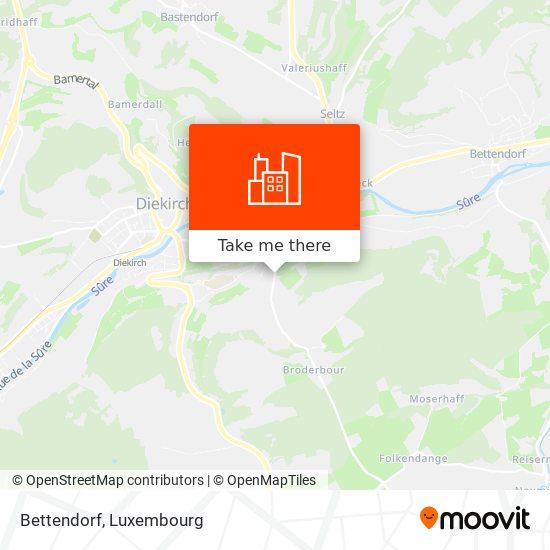 Bettendorf map