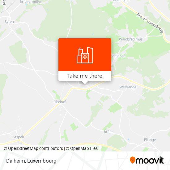 Dalheim map