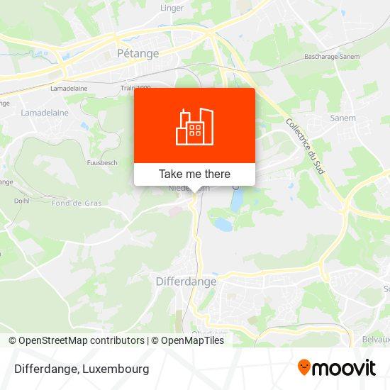 Differdange map