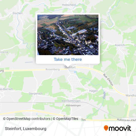 Steinfort map
