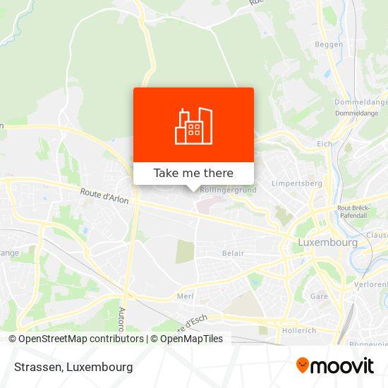 Strassen map