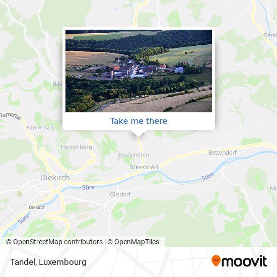 Tandel map
