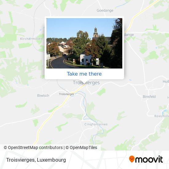 Troisvierges map