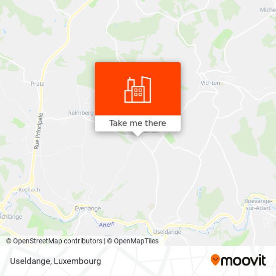 Useldange map