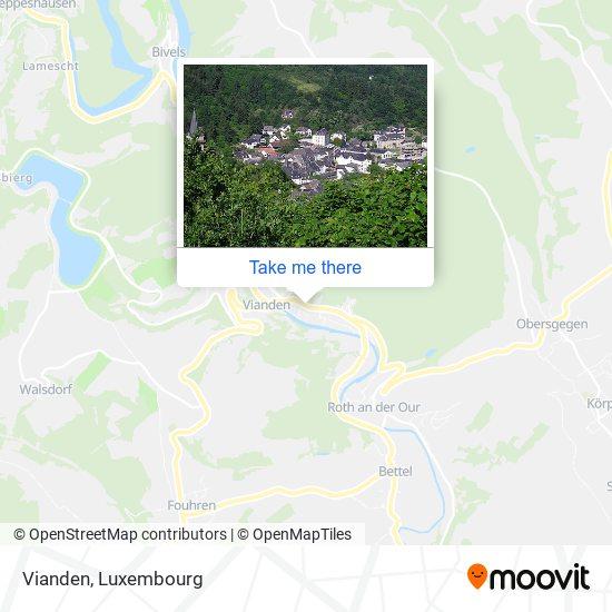 Vianden map