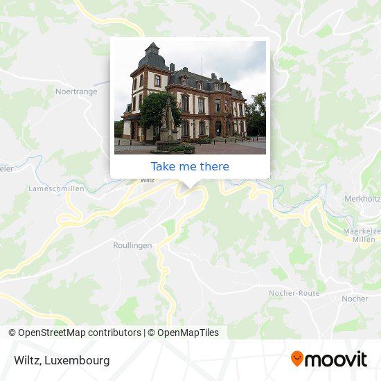 Wiltz map