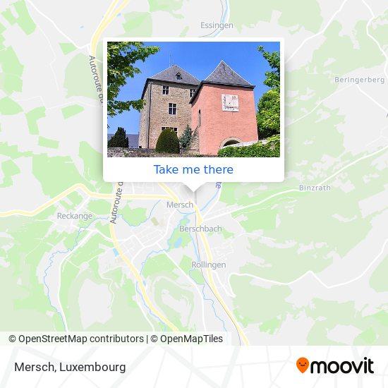 Mersch map